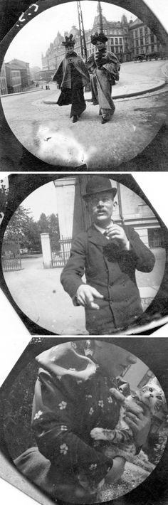 A Norwegian University Student Used a Spy Camera in This Amazing Example of 19th Century Street Photography