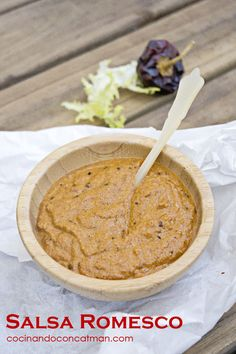salsa romescu Salsa romesco para calçots