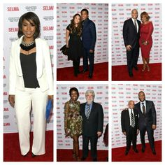 Angela Bassett, Tyler Perry, Babyface, Dick Gregory , Berry Gordy, Gayle King, Cory Booker, Angela Bassett, Mellody Hobson and George Lucas, Dick Gregory, Babyface, Niecy Nash, Common, Oprah, David Oyelowo, Ava DuVernay, Carmen Ejogo attend 'Selma' screening 12/6