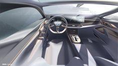 BMW Concept Electric Gran Coupe: The First Pure Electric Supercar Bmw Interior, Car Interior Sketch, Car Interior Design, Automotive Design, Bmw Design, Car Design Sketch, Car Sketch, Auto Design, Models Men