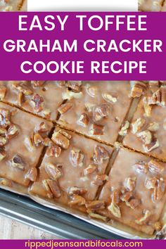 Toffee Cookie Recipe, Easy Cookie Recipes, Cookie Desserts, Candy Recipes, Easy Desserts, Sweet Recipes, Baking Recipes, Delicious Desserts, Dessert Recipes