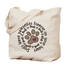 Pawprints Tote Bag - Gift Ideas for Dog Lovers (CafePress.com)