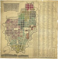 old Turin map
