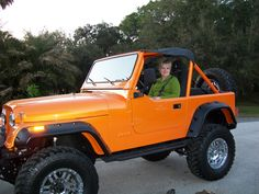 Restored Jeep CJ 7 ..... Someday our jeep  will look like this one!