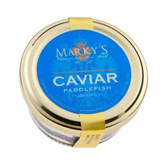 Best Quality & Premium Taste Fine Gourmet Foods for Someone Special Ideal Corporate & Holiday Gift Marky's Paddlefish Caviar, Spoonbill - 2 oz