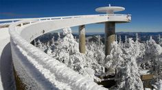 Seasonal Closure of Clingmans Dome Road Planned for December:  For lovers of the Smoky Mountains who want to make the most of their vacation, Clingmans Dome is a familiar mountaintop destination. Most people take the drive down Clingmans Dome Road, leading them to the Clingmans Dome parking lot. From there, they'll prepare for the half-mile hike up to the Clingmans Dome observation tower, a must-visit Gatlinburg attraction. - Click the pin to read on!