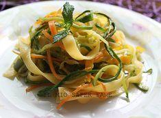 Tagliatelle alle verdure di stagione ricetta semplice