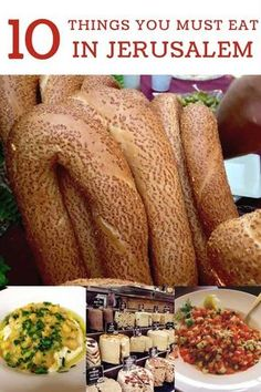 Jerusalem is so much more than a travel destination its a pilgrimage for the mind soul senses and stomach! Today Im sharing my top 10 things you must eat in Jerusalem! Top Recipes, Lunch Recipes, Crockpot Recipes, Breakfast Recipes, Dessert Recipes, Dinner Recipes, Candy Recipes, Vegetarian Recipes, Homemade Baklava Recipe