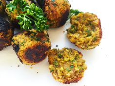 These Paleo Falafel are a vegan, grain, gluten, and legume free version of the traditional Arab deep fried delight - packed full of flavour and nutrition.
