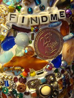 """My friend the artist known as """"Sooz"""" is making a memory jar. Soozie is an artist and sadly, Graduation Party Centerpieces, Graduation Decorations, Graduation Parties, Graduation Ideas, Junk Journal, Collages, China Crafts, Finding Treasure, Memory Crafts"""