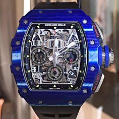 The New Richard Mille RM011-03 J.TODT edition.
