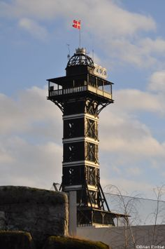 Old zoo-tower in Copenhagen zoo. Finished 31 th of may 1905