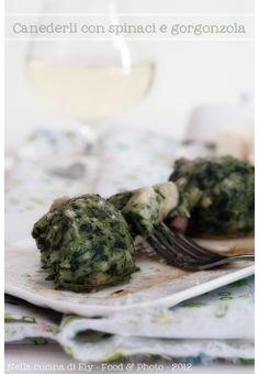 Nella cucina di Ely: Canederli con spinaci e gorgonzola