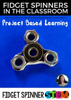 Fidget spinners in the classroom driving you crazy? Take the obsession with fidget spinners and turn them into a project-based learning STEM challenge!   Meredith Anderson Momgineer