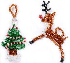 Reindeer & Tree Christmas Decorations DIY