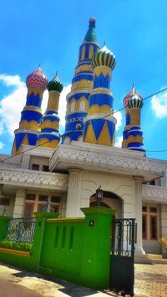 Masjid Aladin. Indonesia