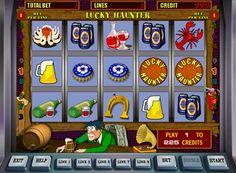 Lucky Haunter spilleautomat for ekte penger. Den største helten av denne online spilleautomater fra Igrosoft selskapet er en vanlig besøkende pub. Følgelig er det gjenstand assosiert med et utvalg av snacks og drikke. Spilleren kan rotere de 5 hjulene og samle en vinnerkombinasjon på de 9 linjene. Maskinen Lucky Haunter er også en runde med d