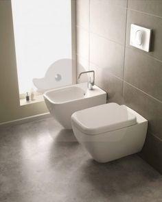 Závěsné WC Vitra Shift, zadní odpad, 54cm