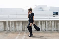 FEVRIE x KIMBERLY. Kimberly features Fevrie on her blog as she wears the Biker Vest!