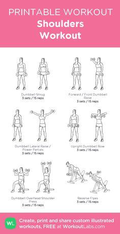 11 best shoulder workout women images in 2020  workout