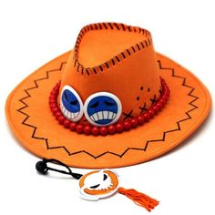 Anime D Ace Luffy Cosplay Cowboy hats - Ace hat