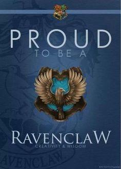 Day 9-Favorite Hogwarts House-Ravenclaw <3