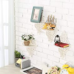 pin it for later. Read more on french country bathroom accessories. Wall Mounted Floating Shelves, Display Stand Rack w/Ornate Scrollwork Design, White #frenchcountrybathroomaccessories