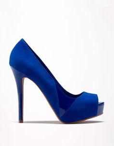 Bershka Czech Republic - Bershka combined patent peep toes