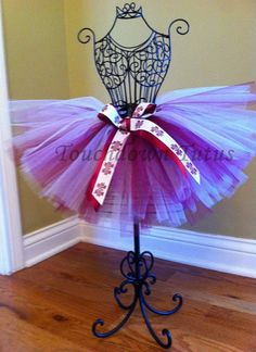 Mississippi State tutu by TouchdownTutus on Etsy, $22.00