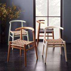 West Elm John Vogel Chair- in oregano/jute $399