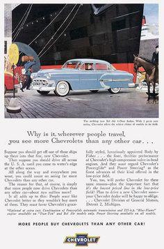 1953 - people must prefer Chevrolet