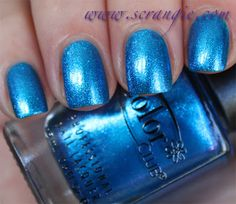 Scrangie: Color Club Take Wing Collection Summer 2012 Swatches and Review (sky high)