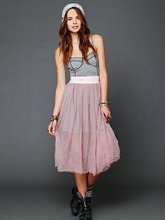 Raw Tulle Skirt  http://www.freepeople.com/whats-new/raw-tulle-skirt-26231712/#