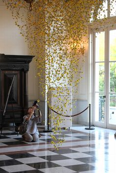 Floral design van Rebecca Louise Law! Spring is in the air!