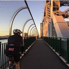 from - out for an early push in - feat. X-TEND Mesh Story Bridge Barriers Tensile Structures, Architectural Engineering, Bridge Design, Beautiful Architecture, Brisbane, Bridges, North America, Mesh, Australia