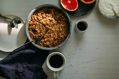 hearty apple-spice buckwheat bake (vegan + gluten-free)