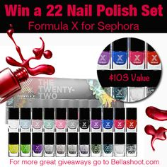 Click here to win -----> http://bellashoot.com/giveaways/8a3dc8e643  Must be signed into FB.