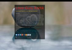 Love Guru Kartik's page on about.me – http://about.me/lovespells