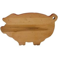 """""""THE PIG"""" Maple Cutting Board, Serving Board 