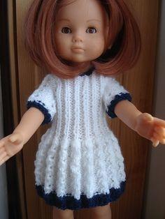 petite robe (bleu et blanc) pour les Chéries