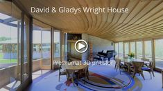 Explore David & Gladys Wright House in Frank Lloyd Wright Homes, Conference Room, Explore, Building, Table, House, Furniture, Home Decor, Decoration Home