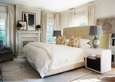 Eclectic Bedroom design ideas and photos to inspire your next home decor project or remodel. Check out Eclectic Bedroom photo galleries full of ideas for your home, apartment or office. Bedroom Inspirations, Home Bedroom, Bedroom Design, Master Bedrooms Decor, Bedroom Decor, Elegant Bedroom, Interior Design, Home Decor, Farmhouse Master Bedroom