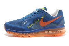 d031f01ee34d5d Photo Blue Nike Air Max 2014 Vivid Orange