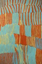 Makinti Napanangka 2002 Untitled synthetic polymer paint on Belgian Linen