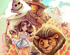 """Check out new work on my @Behance portfolio: """"Wizzard of Oz Proyect"""" http://on.be.net/1H4q8x8"""