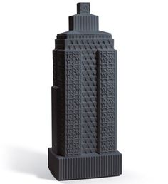 Lladro - metropolis vase III