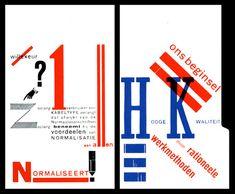 Piet Zwart (1885 - 1977) Normalieënboekje,  advertising for NKF,  1924,