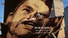 Art on the Beach 7 - Creative Time Manhattan, Beach, Creative, Movies, Movie Posters, Art, Film Poster, Seaside, Films