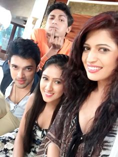 Fab4 Cute Celebrities, Celebs, Charlie Chauhan, Niti Taylor, Indian Drama, Attractive Girls, Tv Couples, Makes You Beautiful, Tv Actors