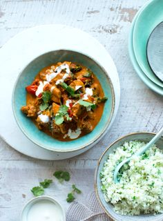 Nadia Lim's new book Fresh Start has a tantalising selection of fresh, wholesome recipes, perfect for welcoming in the summer months. This curry is a perfect homemade alternative to takeaway, and a lot lighter too.